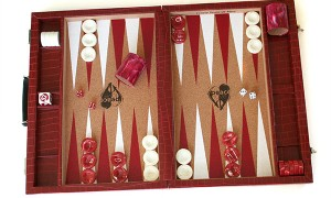 PeaceLove Backgammon Board by Crisloid