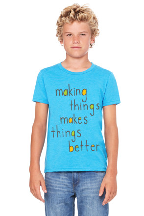 """Making Things"" Youth Tee"