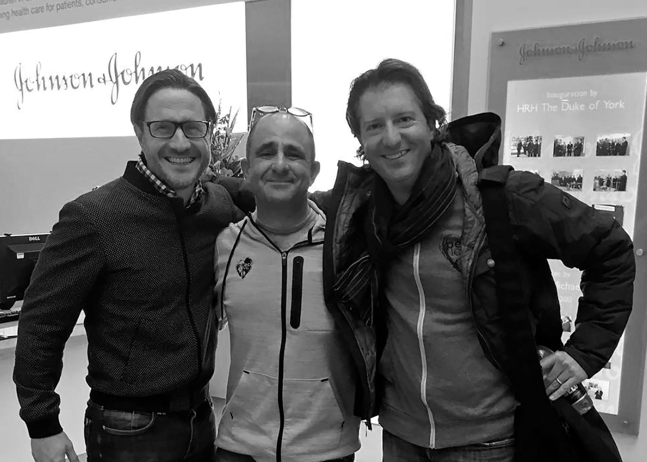 CEO and founder of performance.io with PeaceLove Co-Founders Jeff Sparr and Matthew Kaplan
