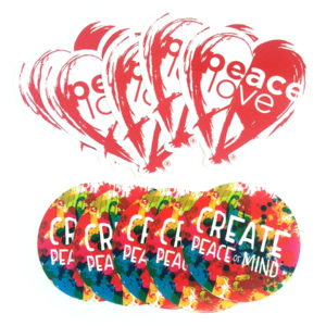 PeaceLove Sticker Pack