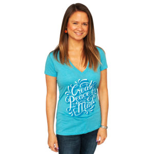 Create Peace of Mind Women's V-Neck