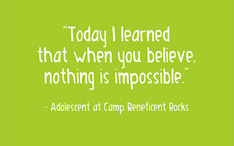 Today I learned that when you believe nothing is impossible.