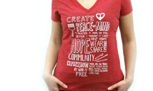 Women's Mantra V-neck Tee